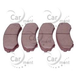 Klocki hamulcowe - przód - Pajero III IV - MN116445 MR527868 - Ashika