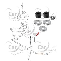 Tuleje łącznika stabilizatora - Pajero Sport 2.5 TD 3.0 L200 2.5 TD - MR296507