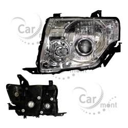 Lampa / reflektor lewy - soczewkowy - Pajero IV - 8301C129 - DEPO