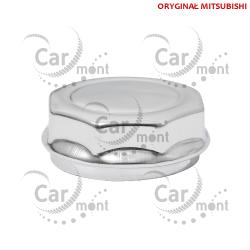 Osłona kapsel na felgę stalową - chrome - Pajero L200 - MB579495 - Oryginał