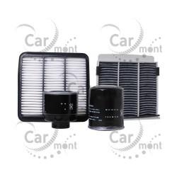 Filtr paliwa oleju powietrza kabinowy - L200 2.5 DID KB4