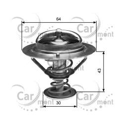 Termostat - Pajero II 3.0 3.5 Sport 3.0 24V - 88 st.C - 1305A239 MD351861 - Gates