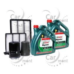 Zestaw filtr oleju paliwa powietrza kabiny + olej - Pajero 3.2 DI-D