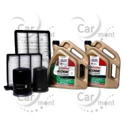 Zestaw filtr oleju paliwa powietrza kabiny + olej 5W40 - Pajero 3.2 DI-D