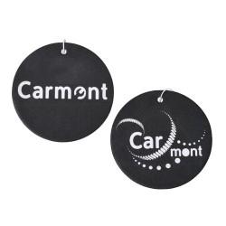 Zawieszka - zapach samochodowy (black-okrągły) - CARMONT