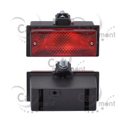 Lampa przeciwmgielna podwieszana czerwona - tylna / uniwersalna