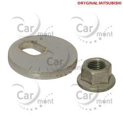 Podkładka i nakrętka śruby zawieszenia - Pajero III - 4113A073 OE