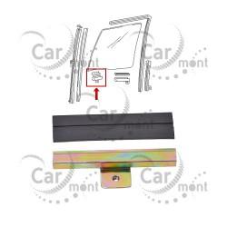Uchwyt i guma przedniej szyby - przedni - Pajero I Galloper - HG050-007 MB257900
