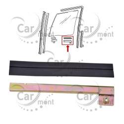Uchwyt i guma przedniej szyby - tylny - LH - Pajero I Galloper - HG050-005 MB257425