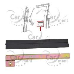 Uchwyt i guma przedniej szyby - tylny - RH - Pajero I Galloper - HG050-006 MB257426