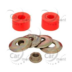 Tuleja łącznika stabilizatora przedniego - Pajero I Galloper - MB598097 - poliuretan