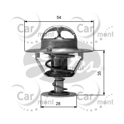 Termostat 54mm/77 st. C - Pajero I L200 - MD997605 MD997222