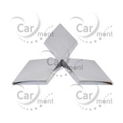 Znaczek Mitsubishi na atrapę / chrome - Pajero L200 - MN117248 MR492455