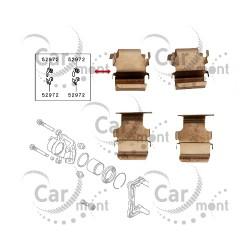 Zestaw montażowy klocków tył - Pajero Outlander Lancer - MR510545 MR493177