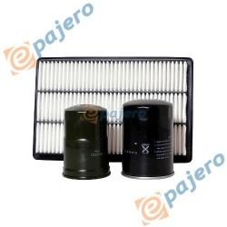 Komplet 3 filtrów do Pajero III 3.2 DI-D