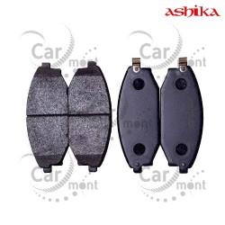Klocki hamulcowe - przód - Hyundai Galloper 2.5TD 3.0 - SB000100 58101-M1A00 - Ashika
