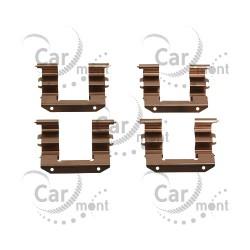Zestaw montażowy klocków hamulcowych - Hyundai Galloper 2.5TD 3.0 - 58144-M1000