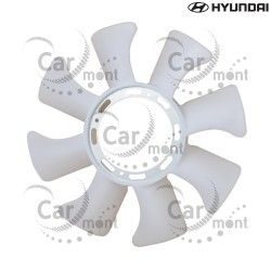 Śmigło wentylatora chłodnicy - Hyundai H100 2.5TD - 25261-42000 - Oryginał