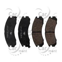 Klocki hamulcowe - przód - Pajero II L200 Outlander - MN102608 - ATE