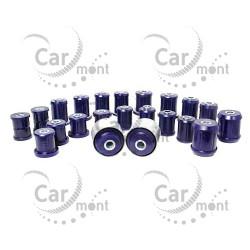 Zestaw tulei zawieszenia - poliuretan - Pajero III IV 2.5TD 3.2DiD 3.5 - MR374672 MR510418
