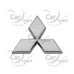 Znaczek Mitsubishi na klapę / chrome - Pajero III Pajero Sport - MR971337