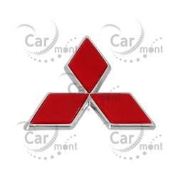 Znaczek Mitsubishi na klapę / RED - Pajero III Pajero Sport - MR416795