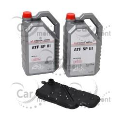 Filtr + olej do automatycznej skrzyni biegów - Pajero III Pajero Sport - MR357710 - Oryginał