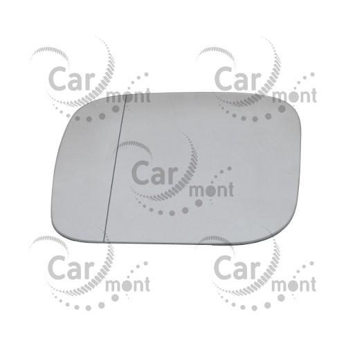 Wkład lusterka prawego - podgrzewany - asferyczne - Pajero III