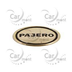 Znaczek Pajero ozdobny - GOLD - Pajero 1983-2018 - 7415A262