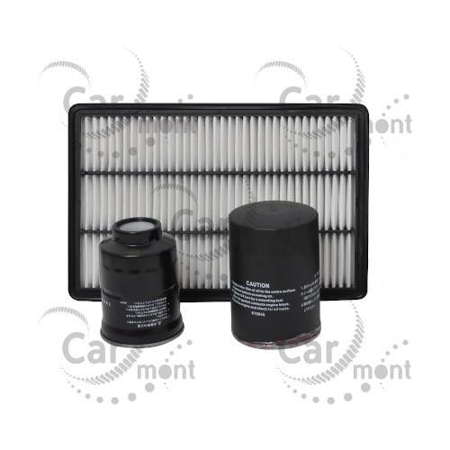 Zestaw 3 filtrów - Pajero IV 3.2 DI-D - 1770A053 1230A046 MR404847